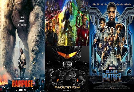 top ten hollywood movies list 2018