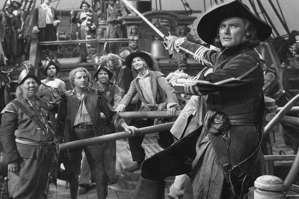 best pirate movies Captain Blood (1935)