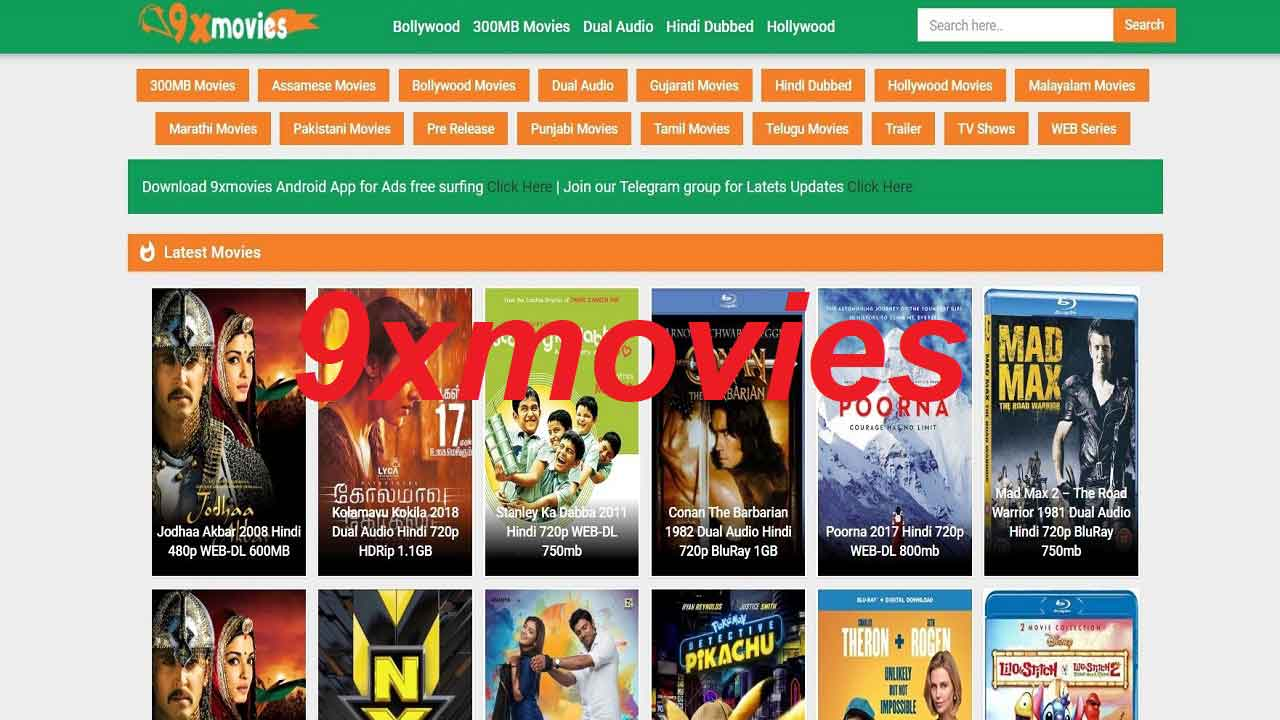 9xmovies 2019: 300mb Movies, Download Bollywood, Hollywood