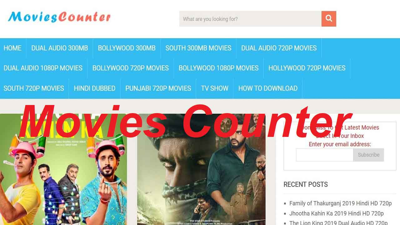 Movies Counter 2019: Latest HD Hindi Movies Download Website Review
