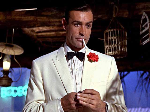 Sean Connery James Bond in Goldfinger (1964)