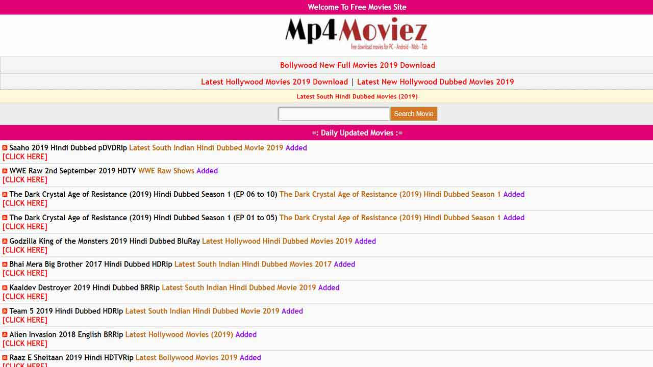 Mp4moviez Download mp4 movies