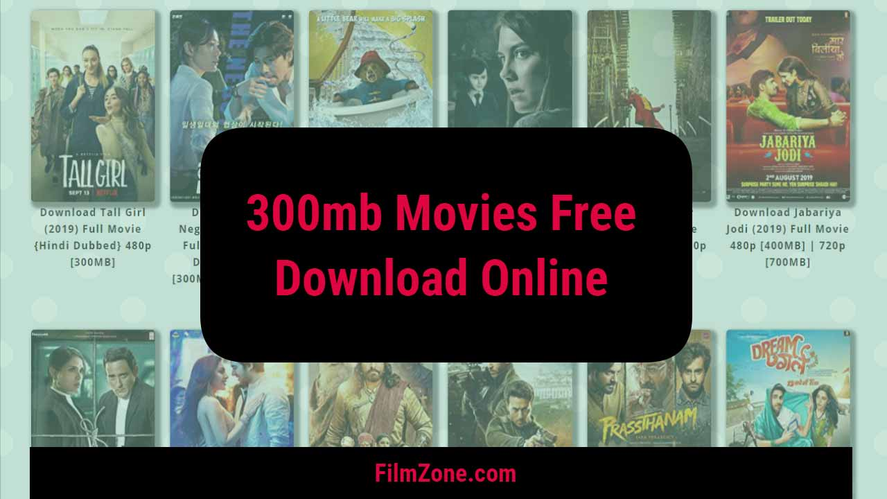 300mb Movies Download in Hindi Dubbed