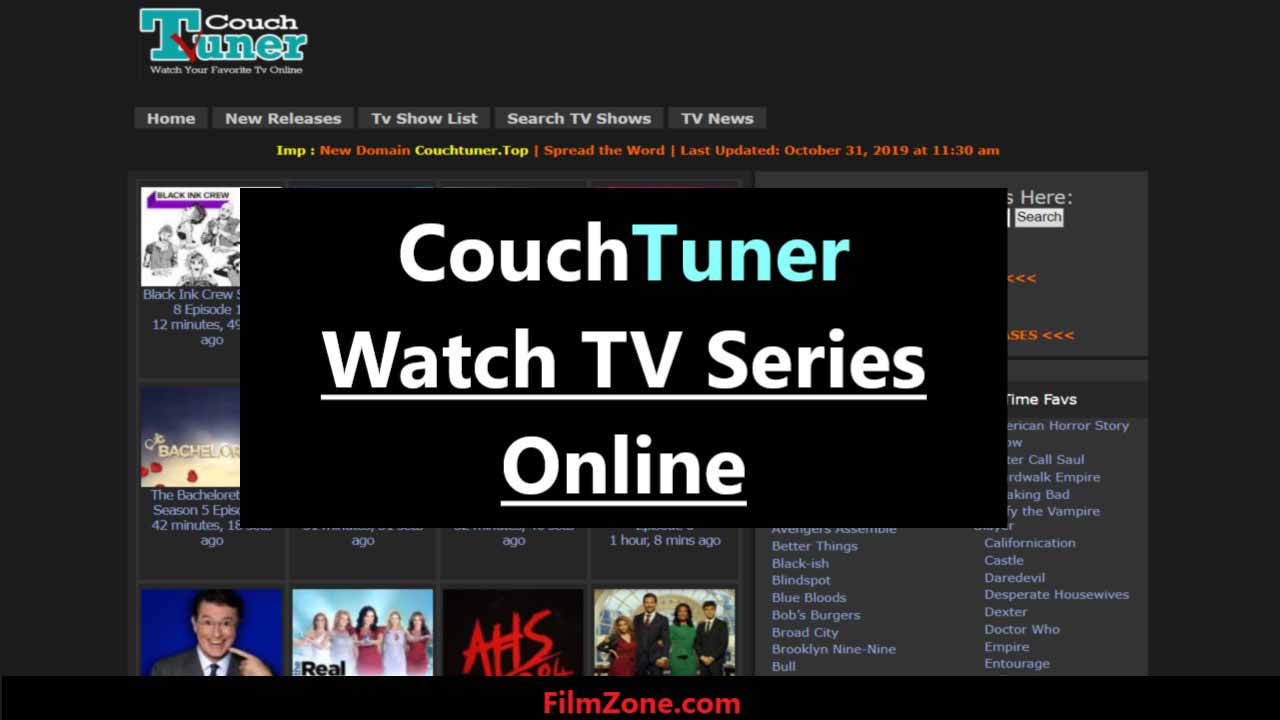 Couchtuner Movies Watch Tv Series Its Alternatives Sites