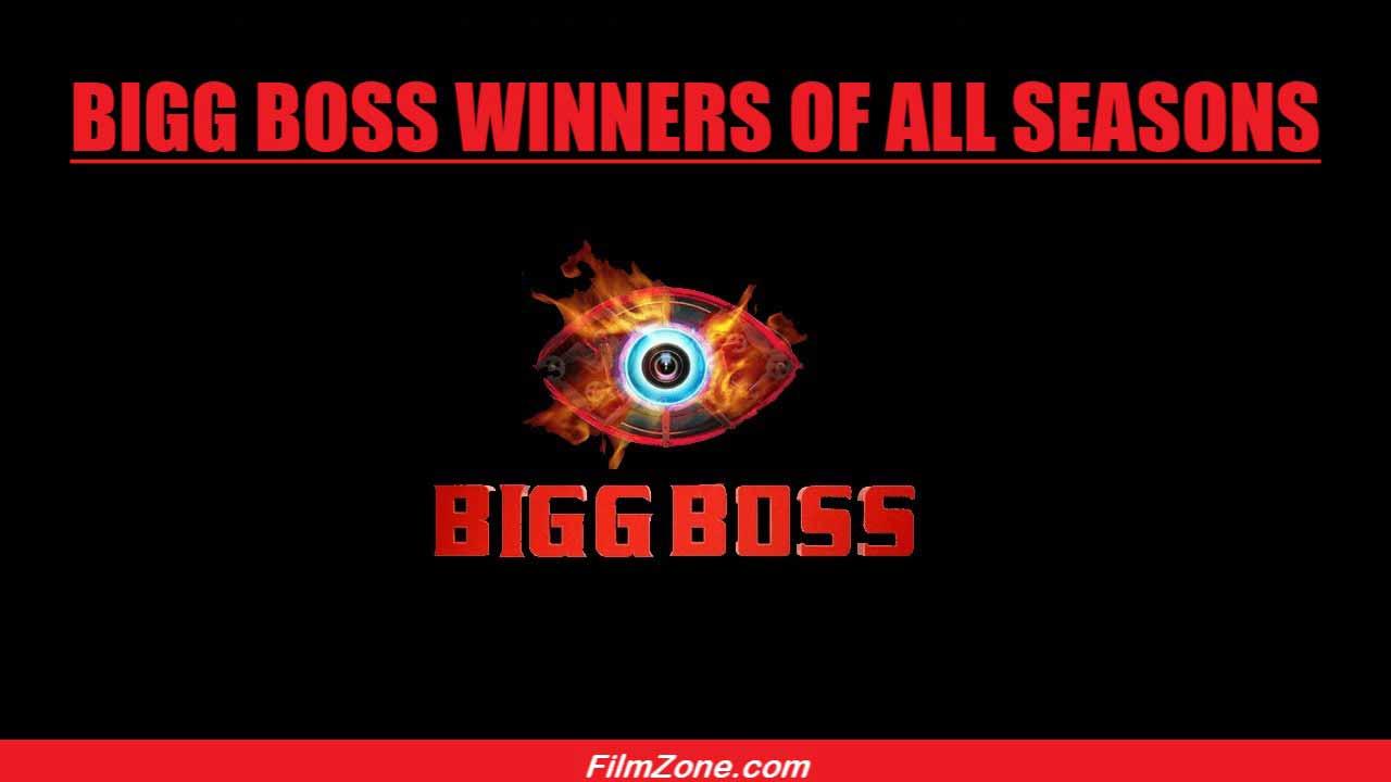 Bigg Boss Winners List of All Seasons