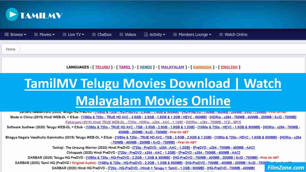 TamilMV Telugu Movies Download